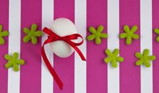 Free Easter Egg With Flowers Stock Image - 18734161