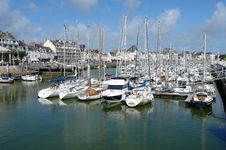 Free The Yachts Parking In Bretagne. Royalty Free Stock Images - 18734199