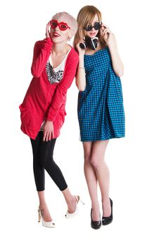 Free Lovely Teenage Girls Having Fun Together Stock Images - 18734884