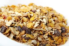 Fresh Muesli Stock Photography