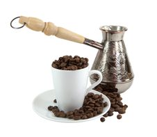 Free Turk And Coffee Cup Stock Images - 18736114
