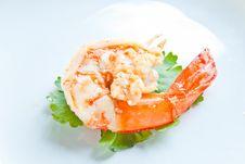 Jumbo Shrimp Royalty Free Stock Image