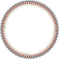 Free Beautiful Lace Ornaments Stock Photo - 18736430