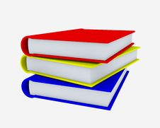 Free Pile Of Books Royalty Free Stock Photography - 18736887