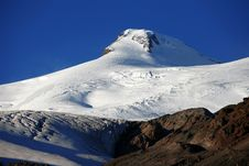 Mt Elbrus, Northern Caucasus Royalty Free Stock Image