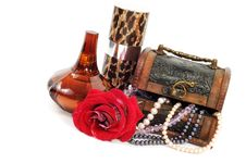 Free Treasure Chest With Jewelry Royalty Free Stock Image - 18737786