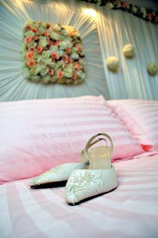 Free Bridal Shoes Stock Image - 18737811