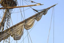 Free Mast Of A Tall Ship Stock Photo - 18737960