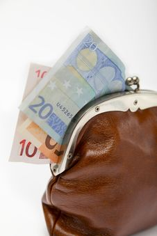 Free Closeup Of A Changing Purse Stock Images - 18738244