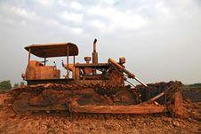 Free Construction Bulldozer Royalty Free Stock Photography - 18738557