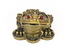Free Frog Feng Shui Royalty Free Stock Image - 18738636