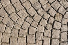 Free Old Stone Paved Street Royalty Free Stock Photography - 18739407