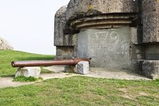 World War 2 Bunker Royalty Free Stock Images