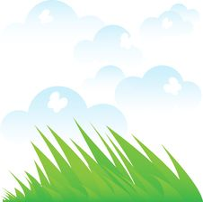 Free Spring Grass Royalty Free Stock Image - 18739796