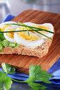 Free Egg Sandwich Stock Images - 18740624