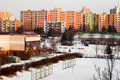 Free Winter City Stock Image - 18742781