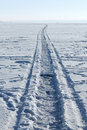 Free A Road On A Frozen Lake Stock Photography - 18749512
