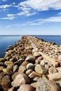 Free Baltic Sea Shore Near The Port Of Riga Stock Photos - 18749583
