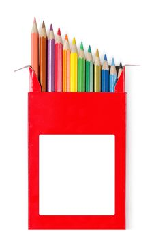 Free Color Pencils Royalty Free Stock Image - 18740526