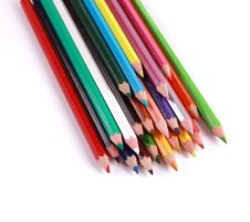 Free Pencils Colors Royalty Free Stock Photos - 18742218