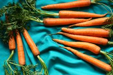 Free Carrots Royalty Free Stock Images - 18742319