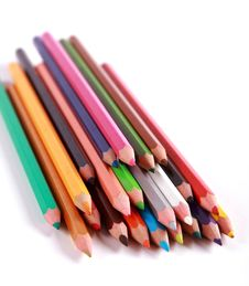 Free Pencils Colors Royalty Free Stock Images - 18742389