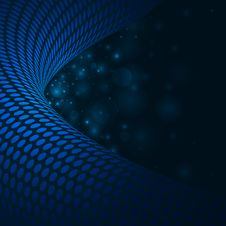 Free Abstract Blue Background Royalty Free Stock Photo - 18742585