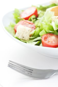 Free Fresh Salad Royalty Free Stock Image - 18743356