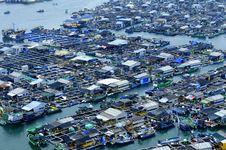 Free Marine Fish Farms Royalty Free Stock Photos - 18743458