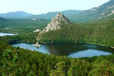 Free Lake Borovoe In To Kazakhstan Stock Image - 18743571