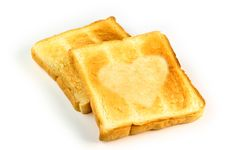 Free Heart Toast Royalty Free Stock Image - 18744946