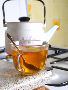 Free A Cup Of Tea Royalty Free Stock Photo - 18745595
