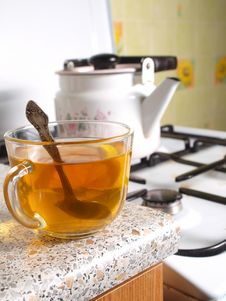 Free A Cup Of Tea Royalty Free Stock Images - 18745599