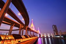 Free Bhumiphol Bridge Stock Image - 18746091