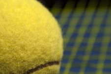 Macro Tennis Stock Image