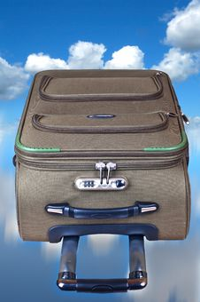 Free Suitcase In The Sky Stock Image - 18746471