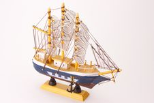 Free Model Of Ship Royalty Free Stock Photo - 18746715