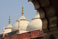 India: Agra Red Fort Stock Image