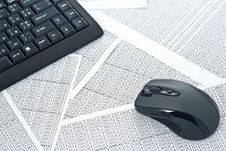 Free Keyboard And Mouse Stock Photography - 18747282
