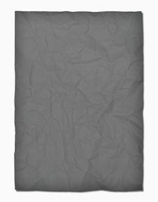 Free Black Crumpled Paper On White Royalty Free Stock Photos - 18747418