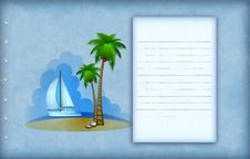 Free Vacation Background Royalty Free Stock Images - 18747689
