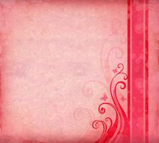 Free Pink Watercolor Background Stock Photo - 18748370
