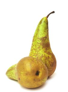 Free Fresh Green Pear Stock Photos - 18749733