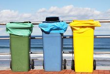 Free Recycling Bins Stock Images - 18749944
