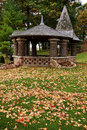 Free Fall Foliage And Pavilion Royalty Free Stock Photography - 18757797
