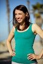 Free Woman At Beach Royalty Free Stock Photo - 18758645