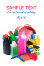Free Assortment Of Means For Cleaning Isolated Stock Images - 18759754