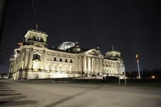 Free Reichstag Building In Berlin Royalty Free Stock Image - 18750306