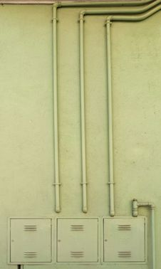 Free Gas Distribution Pipes Royalty Free Stock Photos - 18750358