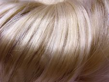 Free Highlight Hair Texture Background Royalty Free Stock Images - 18750599
